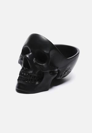 Suck UK Skull Tidy Organisers & Storage Black