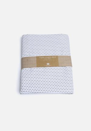 Present Time Dotty Table Cloth Dining & Napery 200gms Cotton
