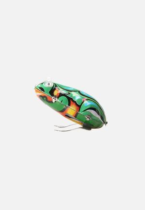 Play Things Wind-up Jumping Frog Toys & LEGO Multi