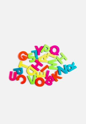 Suck UK A- Z Sticky Notes Gifting & Stationery 6 Neon Colours