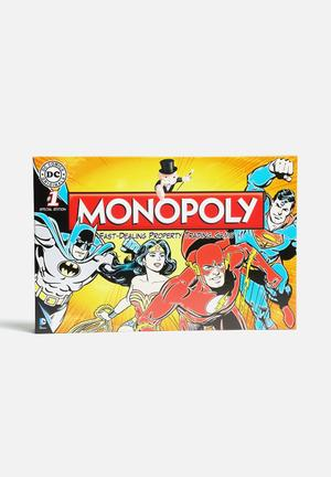 Hasbro Monopoly - DC Universe Games & Puzzles