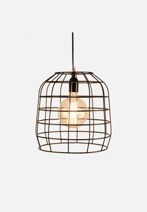 Nolden Bros Cage Pendant Lighting Metal