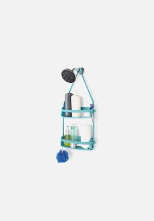 Umbra Flex Shower Caddy Bath Accessories Surf Blue