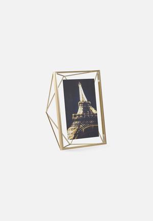 Umbra Prisma Photo Display Accessories Matte Brass