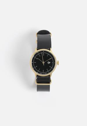 CHPO Harold Mini Watches Gold & Black