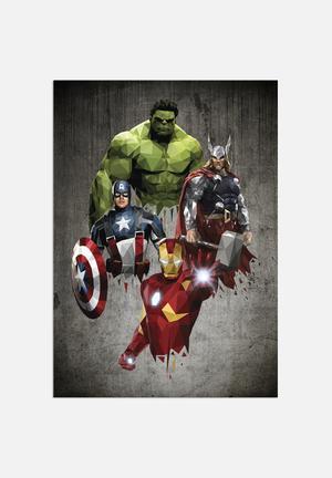 William Teal Avengers Art