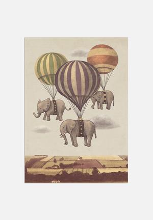 Terry Fan Flight Of The Elephants Art