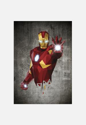 William Teal Iron Man Art