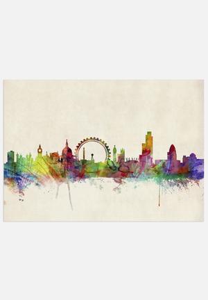 ArtPause London Skyline Panoramic Art