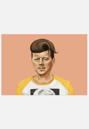 HIPSTORY John F Kennedy Art