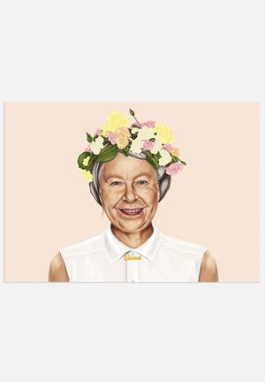 HIPSTORY Queen Elizabeth Art