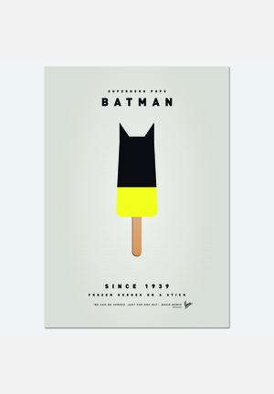 Chungkong My Superhero Ice Pop - Batman Art