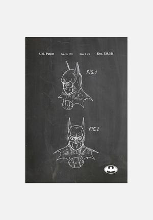 House Of Borders Batman Mask Art