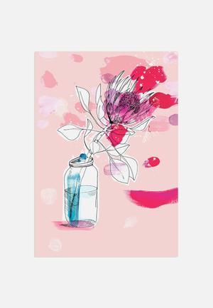 Sweet William My Favourite Protea Art