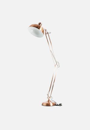 Sixth Floor Oculus Floor Lamp Lighting Metal