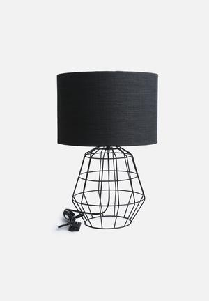 Nolden Bros Wire Table Lamp Lighting Metal