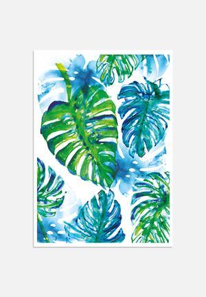Sweet William Jungle Print Art