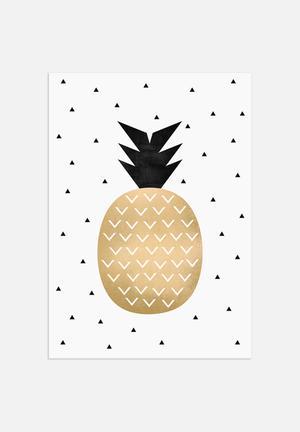 Elisabeth Fredriksson Pineapple Art