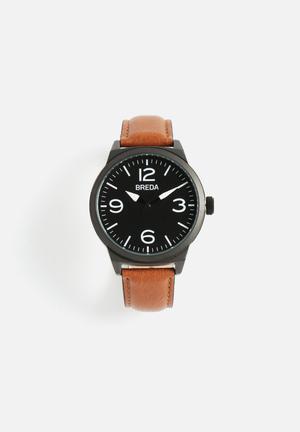 Breda Watches Stephen Watches Brown / Black