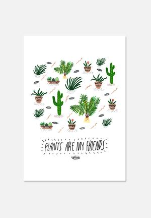 Kris Tate Plants Are My Friends Art