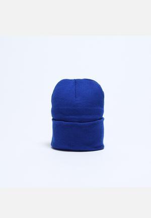 American Apparel Cuffed Acrylic Lined Beanie Headwear Royal Blue