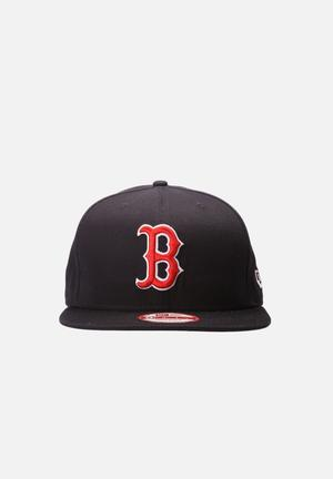 New Era 9FIFTY Boston Red Sox Cap Headwear Red And Navy