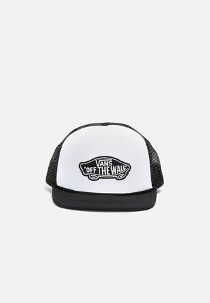 Vans Classic Patch Trucker Headwear Black & White