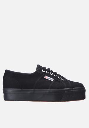 SUPERGA 2790 Cotu Wedge Sneakers Black