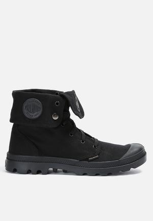 Palladium Monochrome Baggy Boots Black