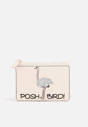 Posh Bird Postcard Purse