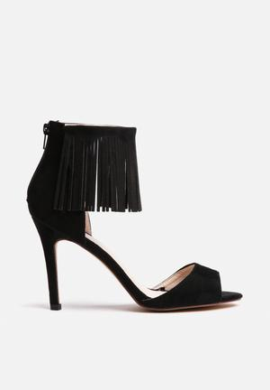 Footwork Taylor Heels Black