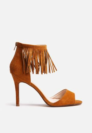Footwork Taylor Heels Tan
