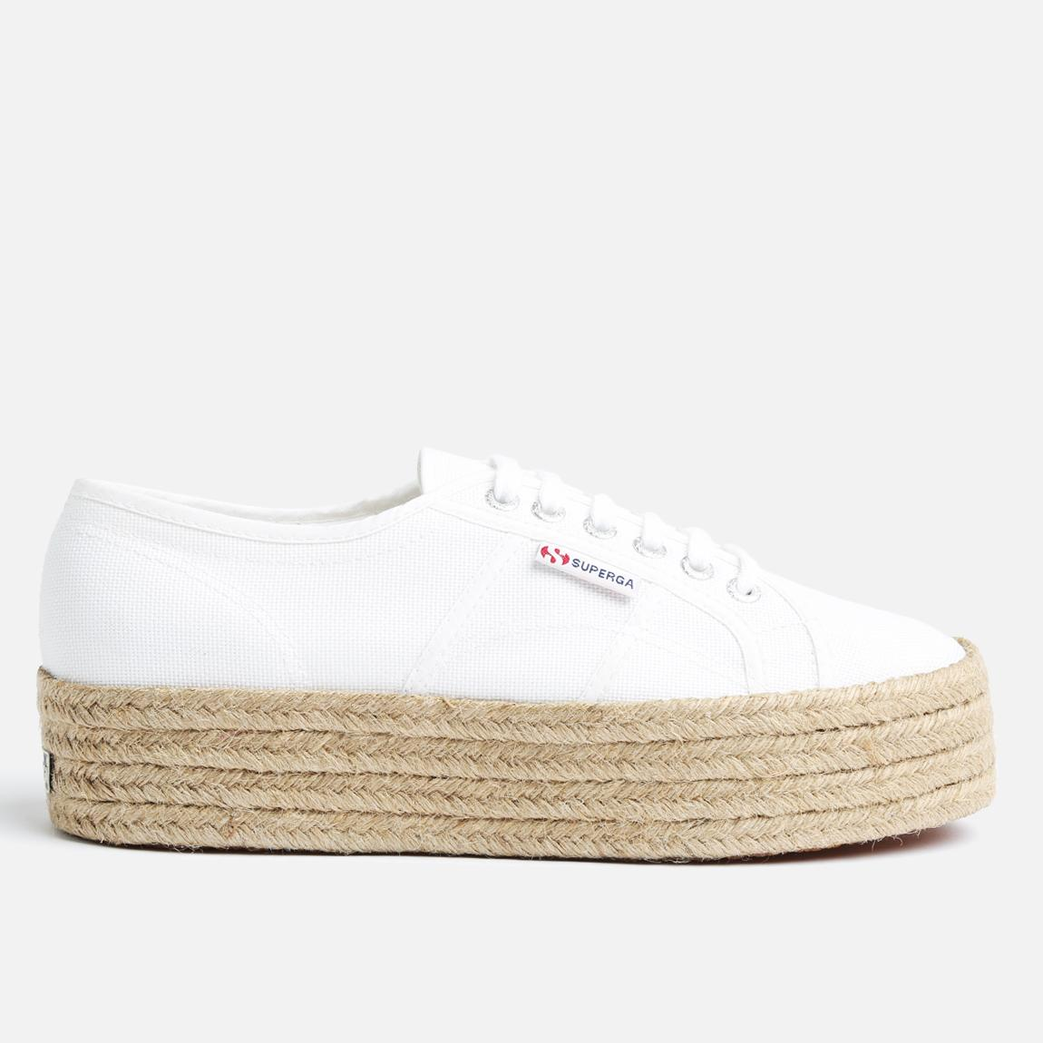 White Espadrille Shoes